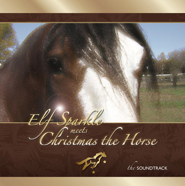 Elf Sparkle Meets Christmas the Horse