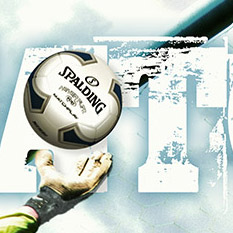 Photo Illustration for Spalding Soccer Balls Campaign Poster
